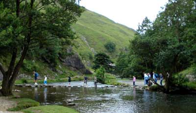 Dovedale Car Park To Milldale