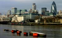 City View, Across the Thames to the City of London